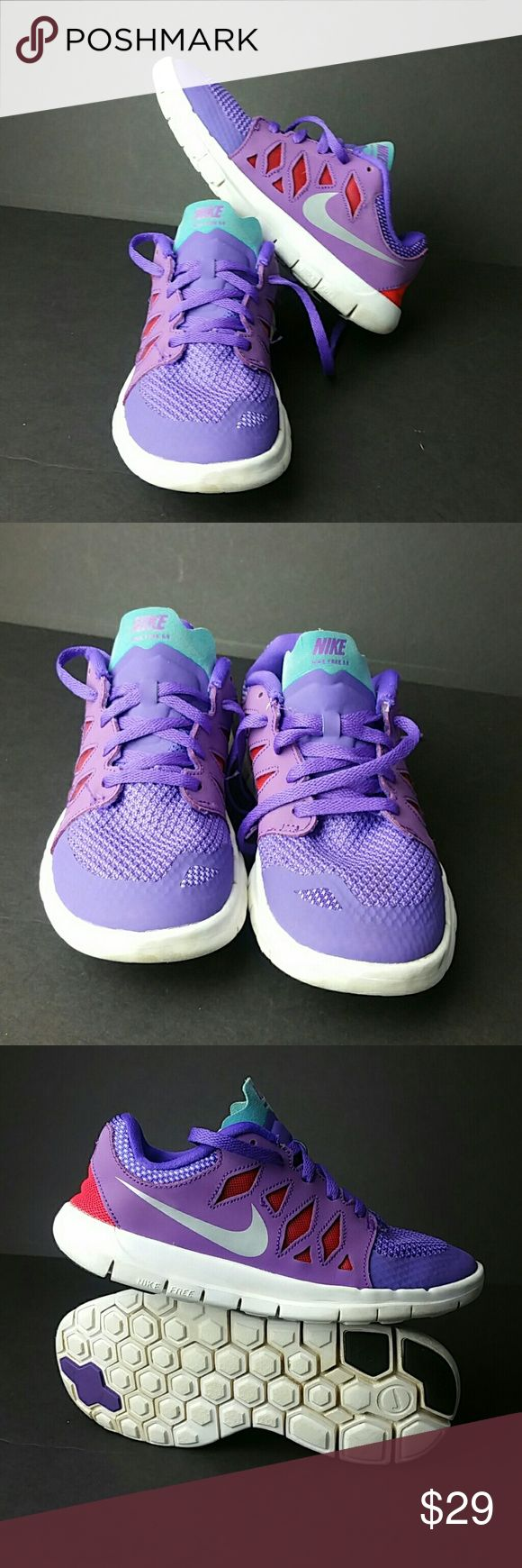 NIKE FREE 5.0 YOUTH SHOES VERY CLEAN INSIDE-OUT   YOUTH SIZE 3Y BIG KIDS   SKE # LT NIKE Shoes Sneakers