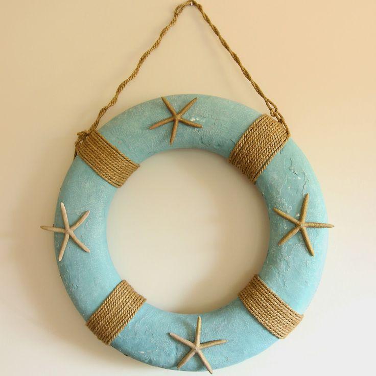 Coastal Vintage: Coastal Christmas Wreath