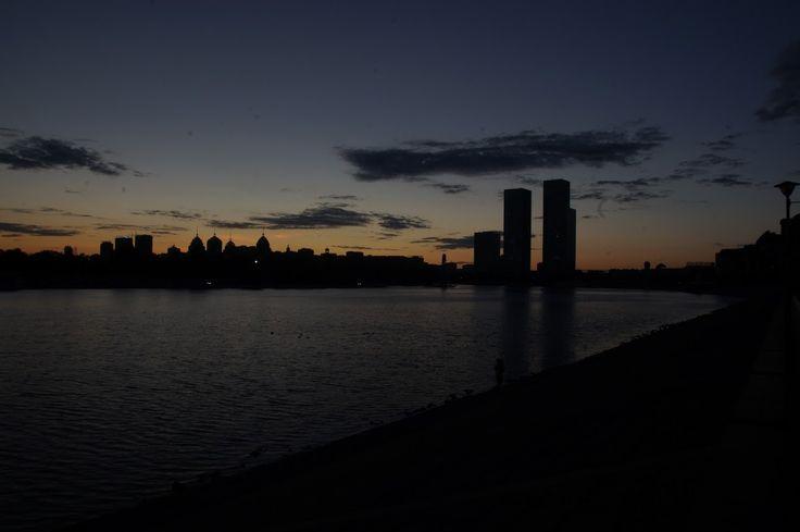 Astana sunset