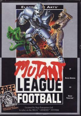 emagge-emagge: Mutant League Football - Sega Genesis