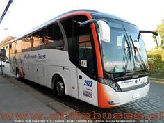 Neobus New Road 360 N10, con chasis Scania. Buses Pullman Bus