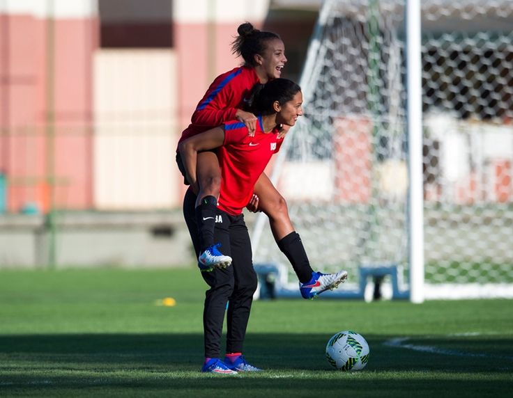 Just one day away from the start of group play in the 2016 Olympic Games, the U.S. Women's National Team trained before kicking off Group G play against New Zealand in Belo Horizonte on Aug. 3 (6 p.m. ET; NBCSN, NBC Universo).  The team then remains in Belo Horizonte to face France on Aug. 6 (4 p.m. ET; NBCSN, NBC Universo) before taking off to Manaus for its final Group G game vs. Colombia (6 p.m. ET; NBCSN, NBC Universo).