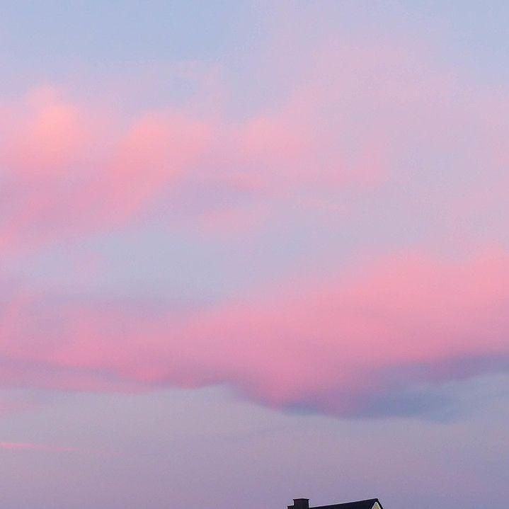 Sonnenuntergang - oder wie es 2016 heißt: die Farben des Jahres 2016 Rose Quartz und Serenity (fast zumindest)  #Sunset #sonnenuntergang #colouroftheyear #fashion #FarbendesJahres #pantone #Rosequartz #Serenity