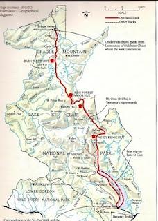 Tasmania Overland Track http://en.wikipedia.org/wiki/Overland_Track