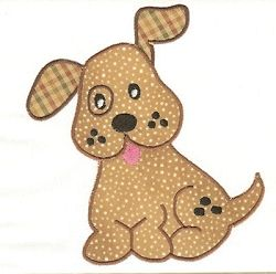 Doggie Applique - 3 Sizes! | Featured Products | Machine Embroidery Designs | SWAKembroidery.com
