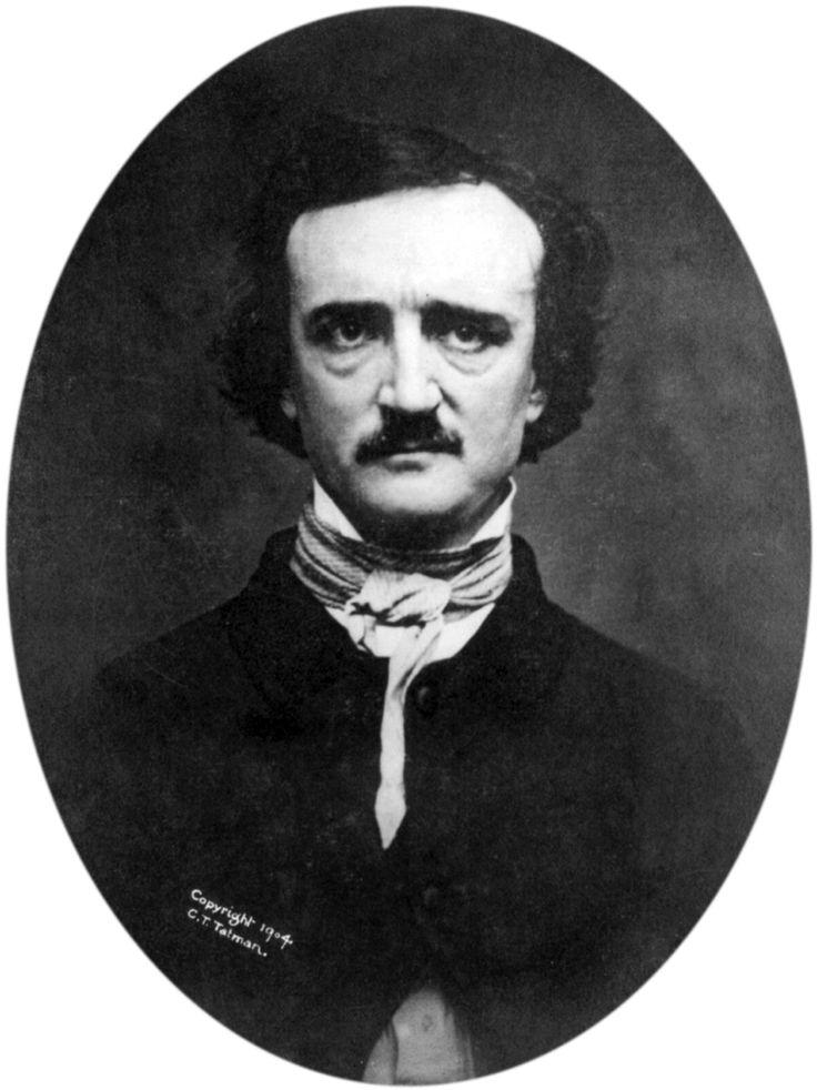 Edgar Allan Poe signals the melancholy