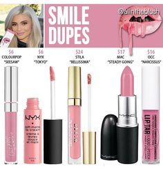 kylie's smile dupes More