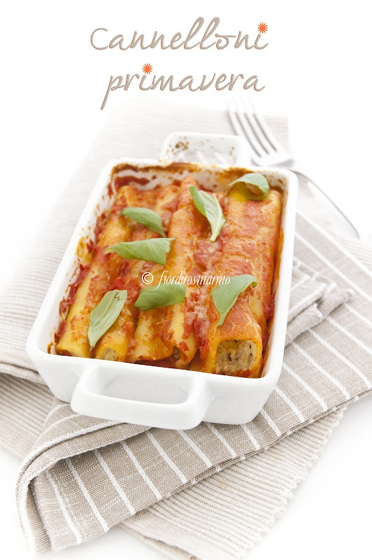 Manicotti Primavera Recipes — Dishmaps