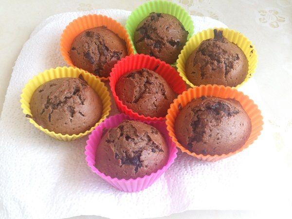 Шоколадные маффины фото рецепт