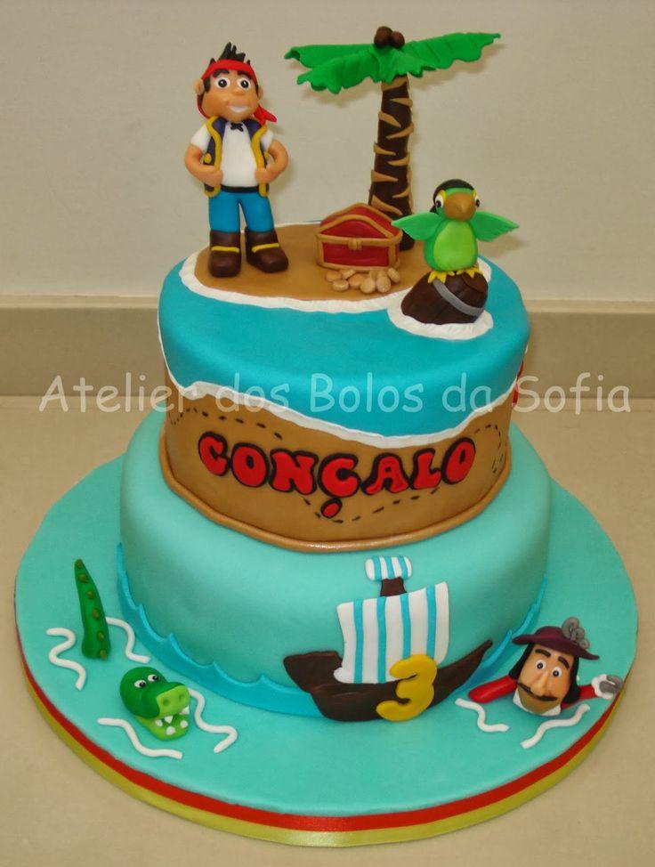 Cake Design Jake E Os Piratas : Atelier dos Bolos da Sofia: Jake e os Piratas da Terra do ...