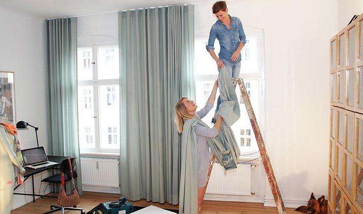 best 25 gardinenschiene ideas on pinterest beige w nde. Black Bedroom Furniture Sets. Home Design Ideas