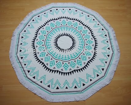 43 Best Images About Round Beach Towels On Pinterest