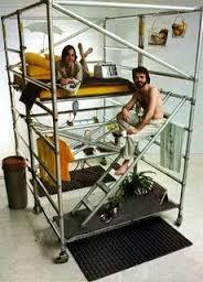 scaffold platform bed - Google Search