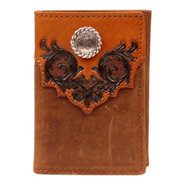 Men's Nocona Wallet with Concho