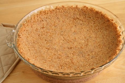 Homemade Ghraham Cracker Crust.  The best recipe EVER
