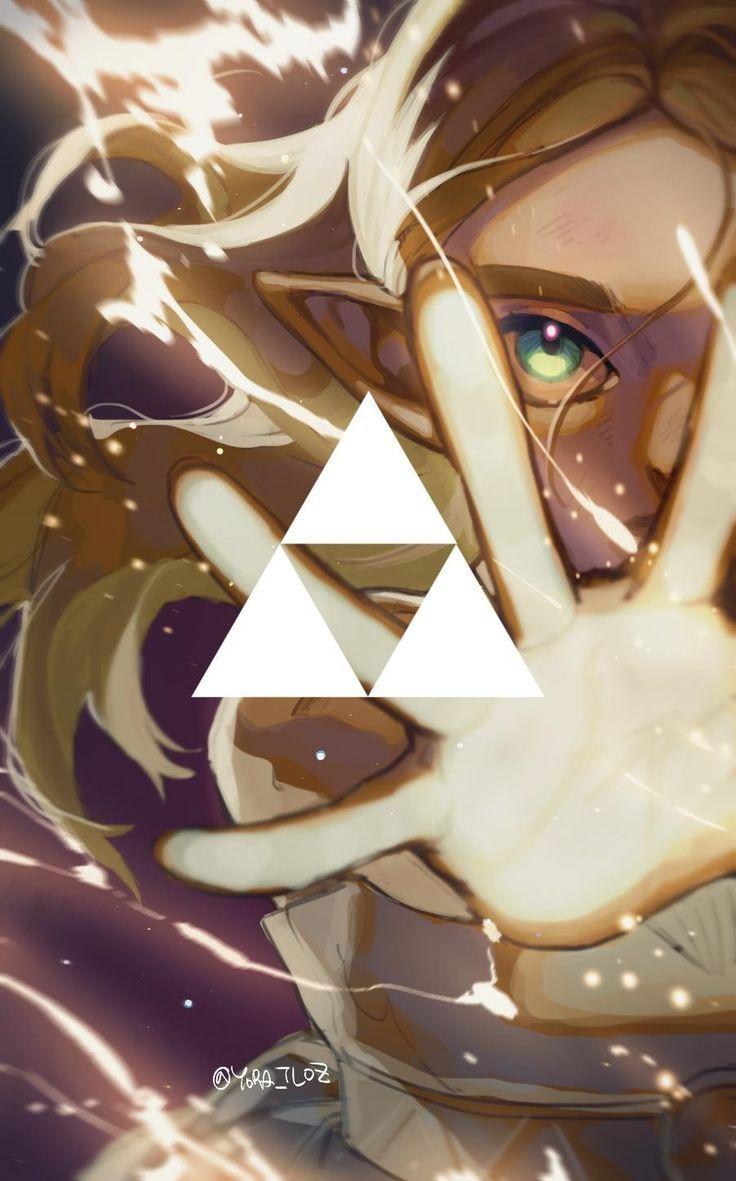 Legend of Zelda Breath of the Wild art > Princess Zelda uses her power within – Legend of Zelda