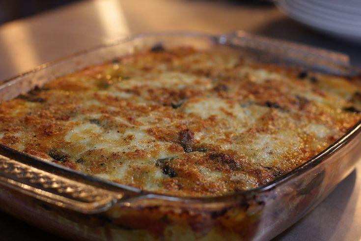 Hellstrøms grønnsakslasagne og hjemmelagde pasta