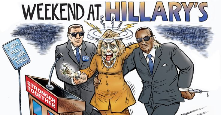Θα αντέξει η Χ.Κλίντον μέχρι τις εκλογές; Τα φαβορί για την αντικατάστασή της