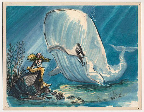 Little Mermaid Visual Development Art to Make Part of Your World
