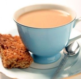 """Nigella Lawson drinks 12 cups of tea a day! How much is """"tea much"""". Read the tea-riffic research at www.fresh.co.nz"""