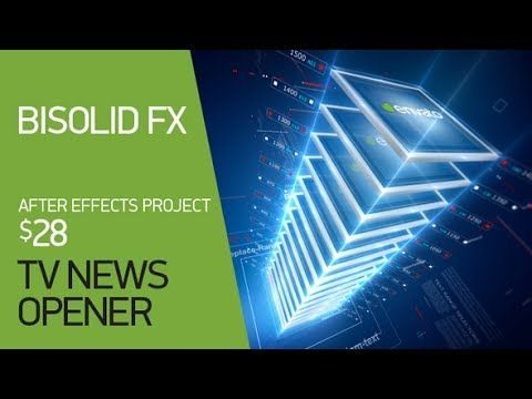 Broadcast News Opener | After Effects Template