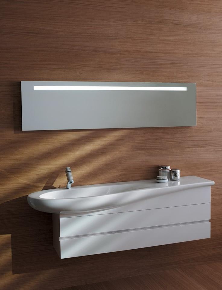 Il Bagno Alessi One bathroom. Designed by Stefano Giovannoni. Faucet: Il Bagno Alessi One by Oras.