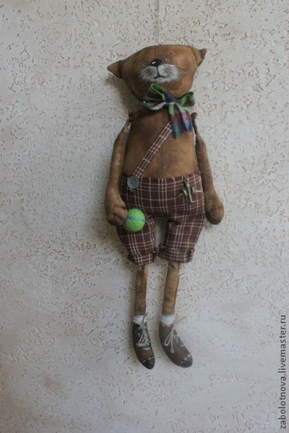 Маменькин сынок-пряничная игрушка - коричневый,ароматизированная игрушка
