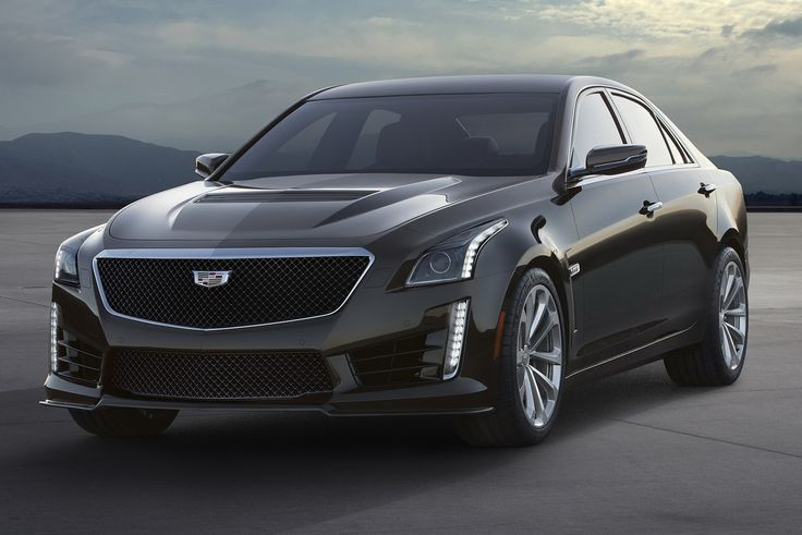 New 2016 Cadillac CTS-V Has 640HP Supercharged V8, Reaches 200MPH
