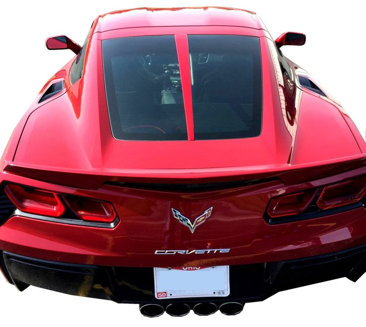 C7 Corvette Painted Rear Split Window Trim