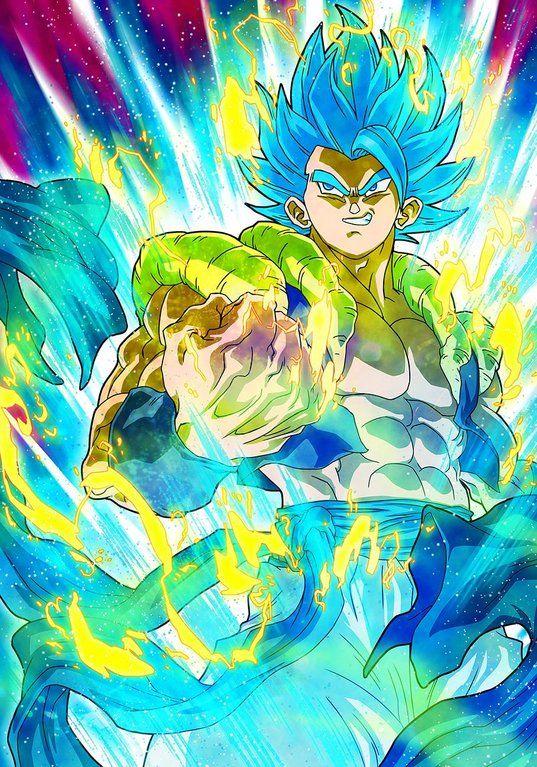 Gogeta Blue fanart drawn by Hermesgildo #Dragonball # ...