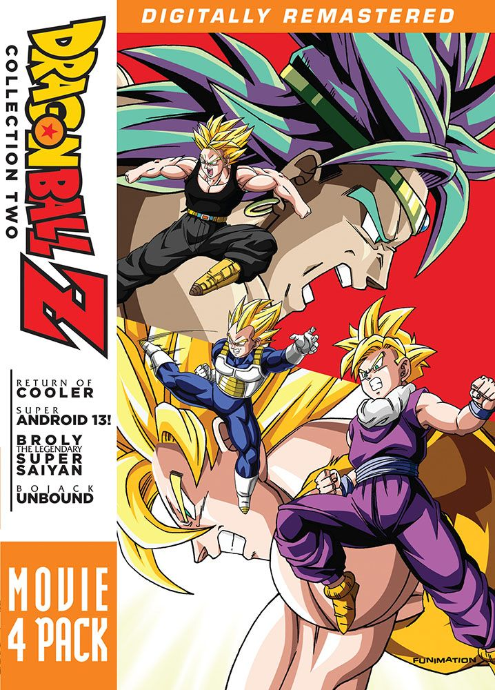"""Dragon Ball Z"" Movie Collection 2 DVD (Funimation"
