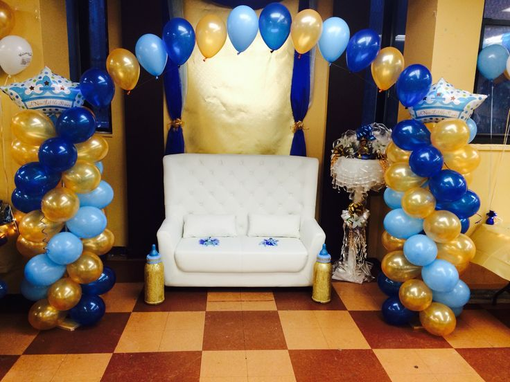 Nikki balloon arch with crowns decor pinterest