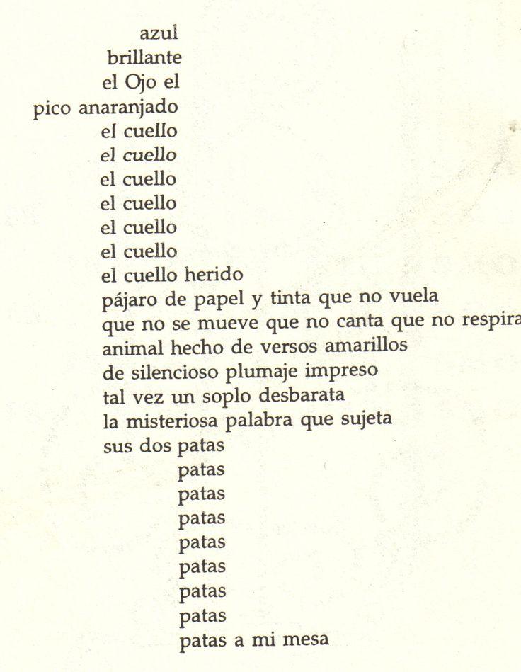 Caligrama de Guillaume Apollinaire