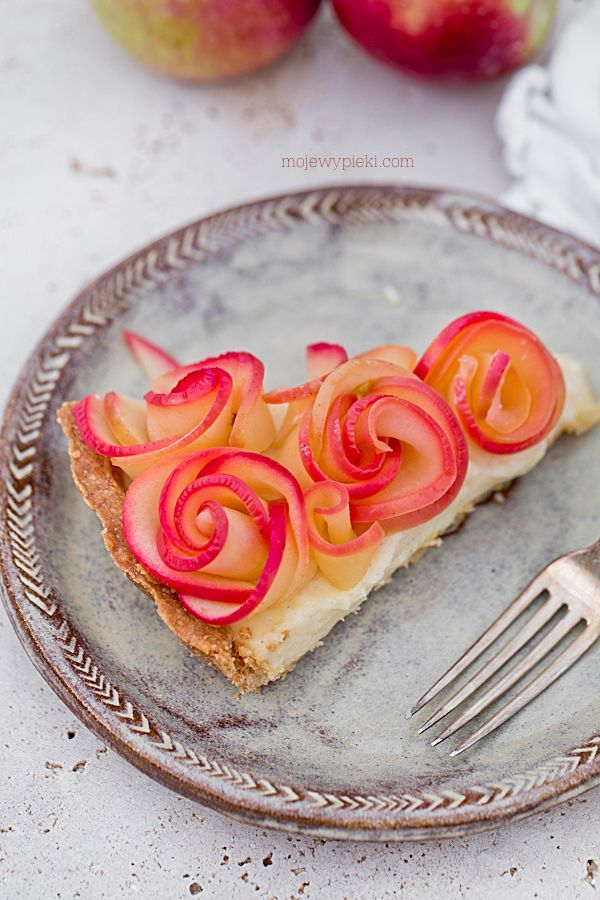 Tarta jabłkowa Bukiet Róż