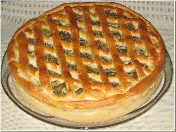 """Пироги """"Для ленивых"""". Очень удачное тесто."""