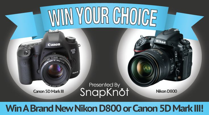Win A Brand New Nikon D800 or Canon 5D Mark III ~ Make Money Online and Have Fun
