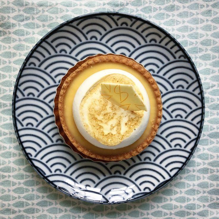 Citroen-merengue gebakje - Bakkerij Bond en Smolders - Utrecht