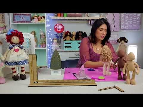 Aprenda Fazer Rostinho de Boneca 1 - YouTube