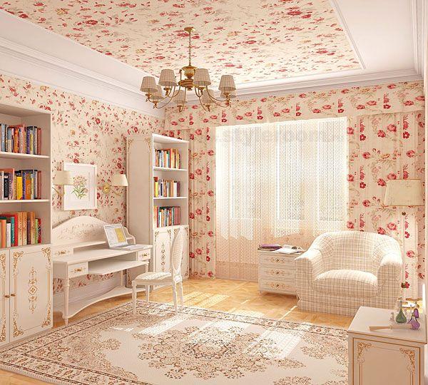 Дизайн девушки спальни