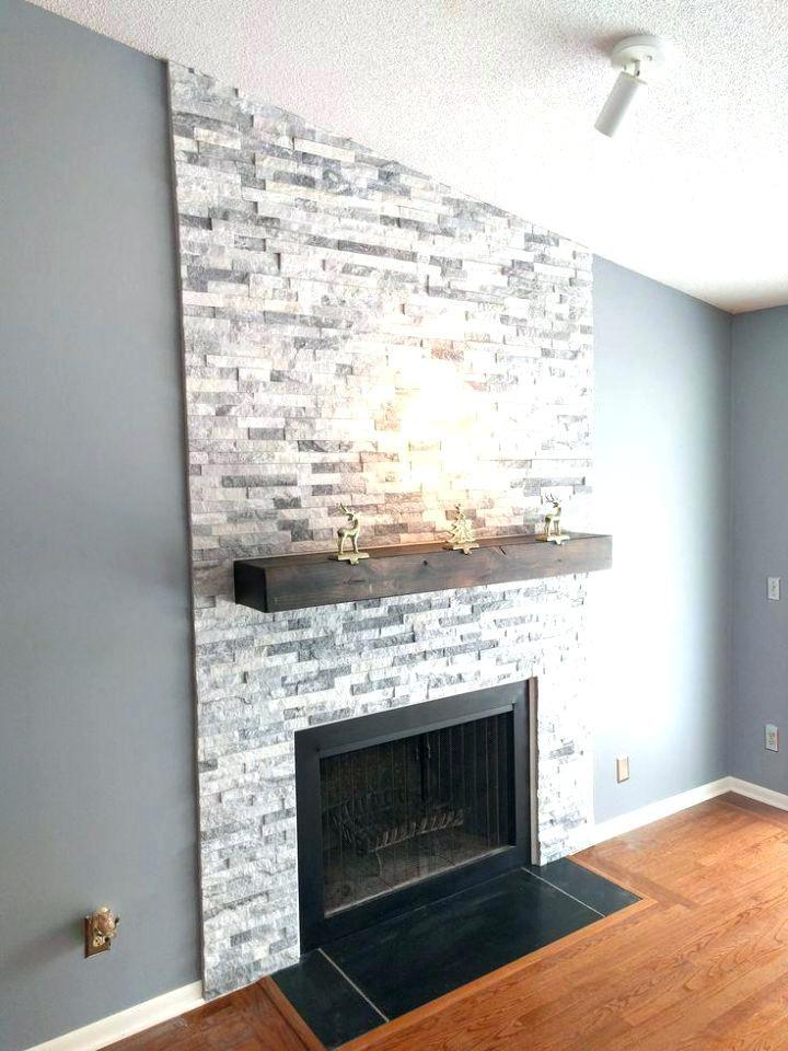 Faux Stone Fireplace Surround Kits Tile Ideas Home Oak Fire