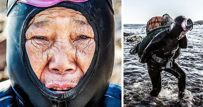 The island of Jeju in South Korea is famous because the flight route between Jeju and Seoul is the busiest in the world. But it's also famous for something else, namely its Sea Women.