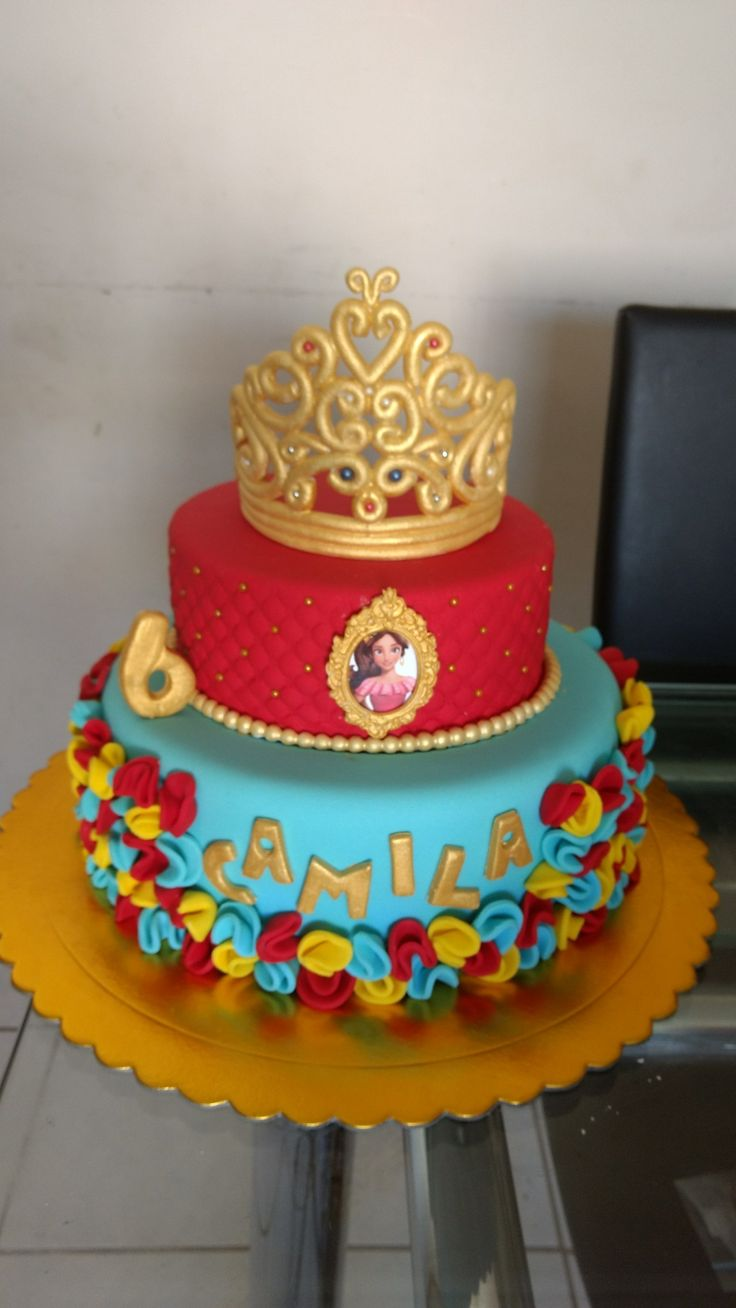 Torta Elena de Avalor.