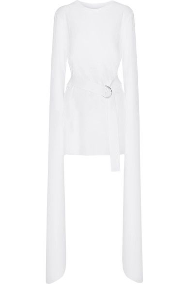 Norma Kamali - Stretch-jersey Mini Dress - White - x large