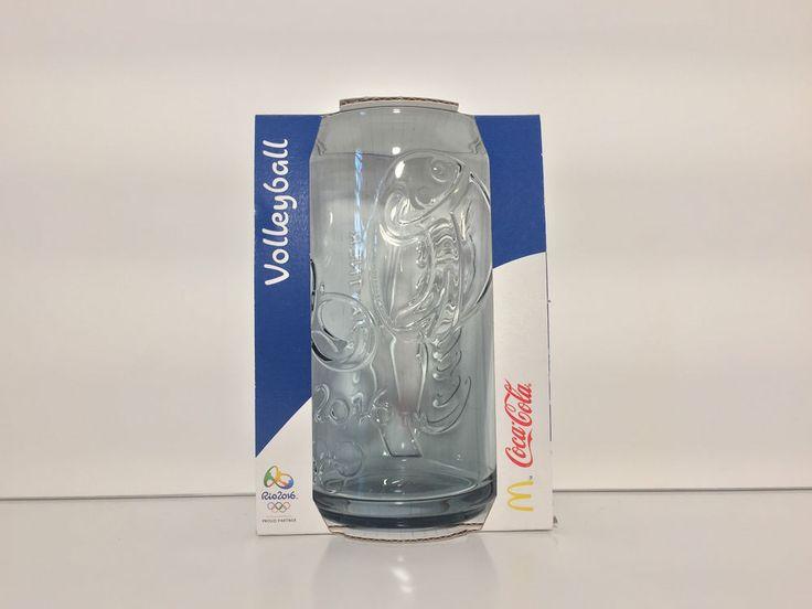 Coca Cola Rio Olympics 2016 Mcdonalds Glass Cyprus   | eBay