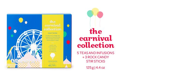 The Carnival Collection - Five Sweet, Nostalgic Teas Inspired By Our Favourite Fairground Treats | DavidsTea
