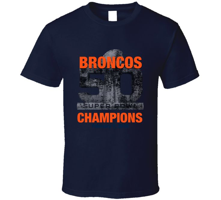 Super Bowl 50 Champions t-shirt Denver Broncos Champions tshirt Super Bowl 2016 Winner tshirt