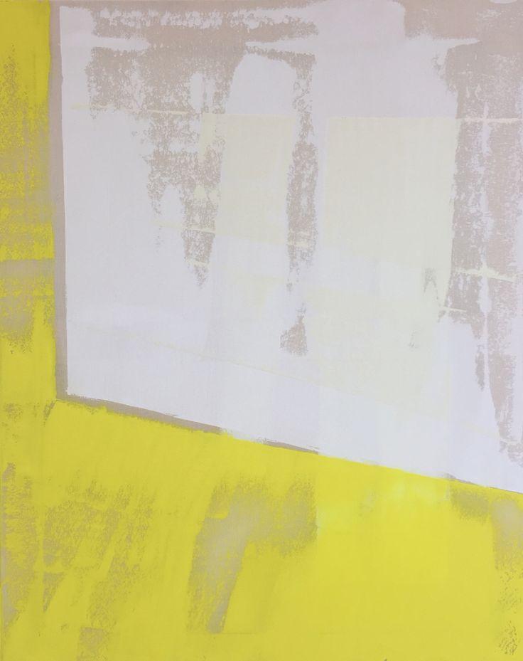 Lisette Schumacher Lucidus 95x75 cm, 2015 Oil and acrylic on canvas