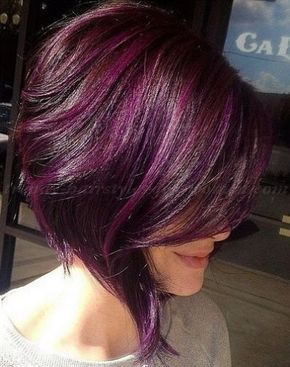 Stacked A Line Bob Haircut With