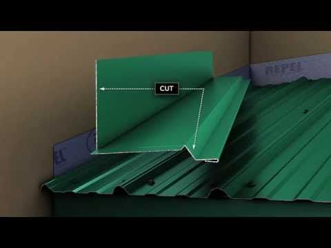 metal roof installation instructions video