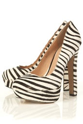 Shoes / Zebra Print